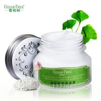 Wholesale Gedar Tree Ginkgo Biloba Extracts Cream Super hour Mositurizing Anti aging Wrinkle Remover Face Skin Care Day Night Cream g A2