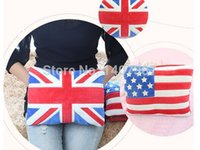 Wholesale 2014 winter new arrival flag deisgn water filling hot water bag charge electric hot water bag