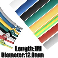 Wholesale 1M mm Color Choose Polyolefin Heat Shrink Tubing Tube Sleeve Sleeving Wrap Cable Wire