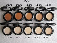 Wholesale 10colors you can choose new makeup studio finish concealer cache cernes spf fps g