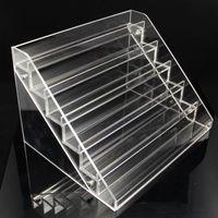 stand - New Model Ecig display shelf Acrylic Ecig stand Acrylic shelf for Electronic Cigarette