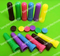 Wholesale Blank Nasal Inhaler Sticks with best quality cotton wicks Blank Essential Oil Aromatherapy Nasal Inhalers Diffuser with Cotton Wicks