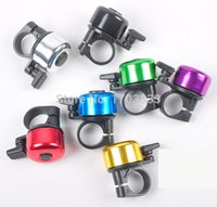 Wholesale Best Price Mini Metal Ring Handlebar Bell Sound for Bike Bicycle Free DHL shipping