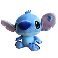 cute doll - 40 CM New Arrival Cute Frozen Cartoon Lilo and Stitch Plush Toy Doll Stuffed Toys Dolls Factory Price P013