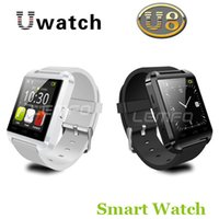 Wholesale Bluetooth Smart Watch WristWatch U8 U Watch for Samsung S4 Note Note HTC LG Huawei Xiaomi Android Phone Smartphones Hot