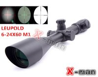 Wholesale 2014 NEW Leupold x60 mm AO illuminated scope hunting scope Diffope W Rings11mm mm Tactical Optics Scopes Riflescope