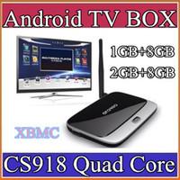Wholesale 5X xbmc installed Bluetooth Version EKB311 MK888B CS918 quad core android tv box Android GB GB GB RK3188 Cortex A9 mini pc DH