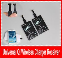 Wholesale Universal Qi Wireless Charging Charger Receiver Wireless Charger Receiver Film Charging Pad Receiver Coil For Micro USB Mobile Pho
