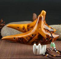 Wholesale Hot sale hole ceramic flute export classical alto AC ocarina