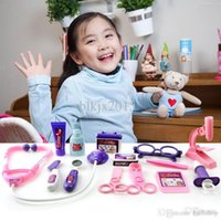 Wholesale Doctor Toys Time limited Brinquedos Meninas New Girl Family Doctor Actor Children Toys Medical Box Simulation