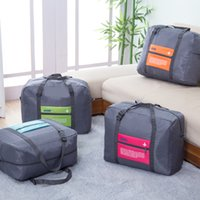activities travels - Portable Foldable Nylon Travel Luggage Clothes Underwear Organizer Storage Bag Carry On Duffle Bag Soft Big Capacity Outdoor Activities