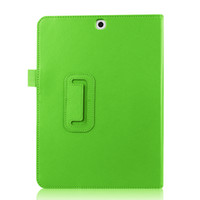 Wholesale Magnetic Flip Folio Leather case for Samsung Galaxy Tab S2 T815 tablet computer protection