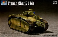 Wholesale hobby toys French Char B1 bis D tank model kit Building Block Set Brick Toy Child Gift