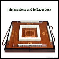 articles tourism - leisure recreation article antique portable chinese Mahjong classicu tourism Mahjong game set with wooden box