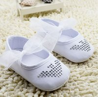 Cheap 11 12 13 cm toddler shoes!non-slip baby shoes,charm white princess shoes,soft girls single shoes,lace kids floor shoes.6pairs 12pcs.C