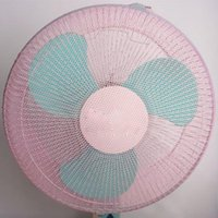 Wholesale New Professional Family Baby Kid Finger Protector Safe Fan Guard Net Mesh Cover Shroud Kit Pink