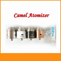 Cheap NEW 2015 Camel RDA atomizer 22mm Diameter Rebuildable Dripping Atomizer VS Taifun GT V2 freakshow DN23 Doge Mutation X V2 RDA