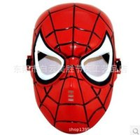 plastic injection molding - Factory direct sale masks Children s plastic masks children masks masks cartoon Spider Man mask injection molding