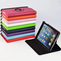 Wholesale New generic degree Swivel Pu Leather Rotating Case Smart Cover case For New iPad mini Case Tablet