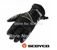 Wholesale Fashion SCOYCO MC15 MOTO racing gloves cross country Motorcycle gloves waterproof motorbike protective gloves black color