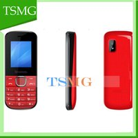 Single Core big red random - 1 Inch Cheap senior cell Phone Dual SIM Big Keyboard Loud Speaker Color Screen TFT FM Long Standby Quad Band Phone for Student Old