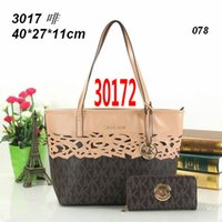 mk handbag - 2015 Hot Sell New Style Suits Totes bags And PURSE women MK handbag PU leather bag Wallets MK shoulder bag women MCM Bags