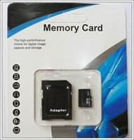Wholesale 100 Real GB Micro SD Card Memory Card TF Card Genuine GB with Adapter retail package for Cell Phone MP3 Player Tablet PC