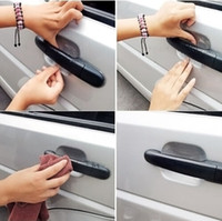 Wholesale Car Styling Car Door Handle Scratch Protector Film Protective Sticker Vinyl for All Cars Cruze Opel Fort Mazda Peugeot