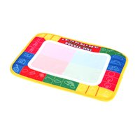 Wholesale 29 cm Water Mat Tablet Aqua Doodle Multicolour Drawing Board children water drawing mat with pen