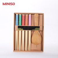 bamboo household products - Somini high quality product for chopsticks spoon set travel chinese style household quality bamboo