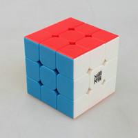 Wholesale YongJun magic cube3x3x3 New MoYu Aolong V2 stickerless Pink x3x3 Magic cube Ao Long x3 Cube MM