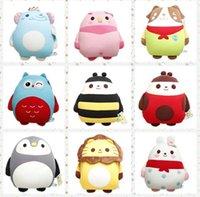 Cheap 50pcs Animal plush toys foam particles Software Alliance pillow cushions 1076395111 201410HL