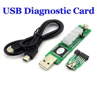 Wholesale New arrival bit SM BUS USB Diagnostic Card For IBM Laptop notebook