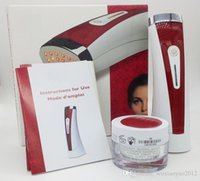 Wholesale LED red light skin Rejuvenation vibration massager fade wrinkles beauty equipment Promotes Healthy Skin shrink pores