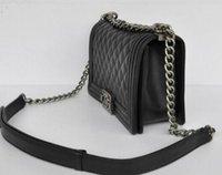 Wholesale Fashion Women Leather Crossbody Designer Handbag Cover Plaid Chain Ladies Shoulder Bags Classic Messenger Bags