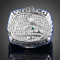 Wholesale 2013 Seattle Alloy Plated rhodium Seahawks Football Super Bowl championship rings Fans Love Collect Size