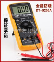 Wholesale DT9205A high precision digital multimeter multimeter pocket scale electrical maintenance tool