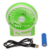 Wholesale Hot Selling Portable Strong Wind Speeds Mini USB Lileng Personal Cooling Fan with Recharge Battery for Home Office Outdoor Use color