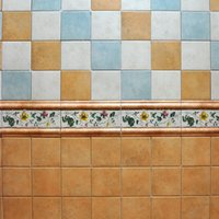 Wholesale Foshan brick Mediterranean pastoral brick kitchen and bathroom wall tiles x165mm Matte small colored ceramic tiles JF