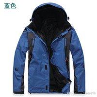 Wholesale Hot sell new set Winter Men Outdoor Sportswear Softshell men s Jacket Windproof Water Proof Breathable Outdoor Ski Suit Coats