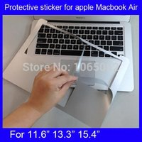 Wholesale For MacBook pro quot quot inch Retina A1425 A1502 rest Sticker Track Pad Guard Protector Decal Cover