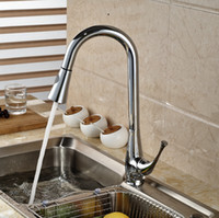 bathroom sink brands - pull out kitchen sink faucet spray hot cold tap brass chrome bathroom singel handle mixer brand new