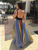 Jupes longues Tutu robe de bal de la Bohême, plus la taille mousseline imprimée Big Swing plage plissée jupes maxi automne mode estivale multicolores femmes