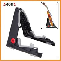 Wholesale Aroma AUS Foldable Stand A frame Bracket Mount for Ukelele Violin Mandolin Easy Universal Compact Space saving Dropshipping