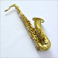 Wholesale ALLnew French SELMER B flat tenor sax antique brushed