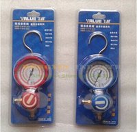 Wholesale Value Collision Proof Single Gauge VMG U H L For Kinds of Refrigeration like R22 R41O R134A and so on