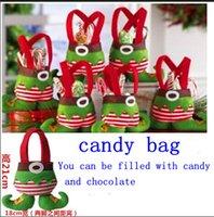 Wholesale Foreign trade sales Christmas Elves bag gifts Christmas decorations Elves bag candy bag Christmas gift bag