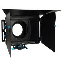 Wholesale FOTGA DP3000 Pro DSLR matte box sunshade w donuts filter holders f mm rod rig M2