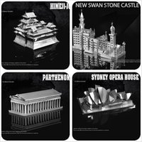 3d puzzles - 3D puzzle for adult New World historic sites Himeji jo Swan Fort Temple of Athens Sydney Opera House Building style