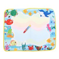 aqua play - Hot x49cm Baby Play Toys Water Drawing Painting Toys Mat Pen Water Drawing Board Kids Drawing Aqua Doodle Water Mat Tablet